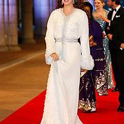 NLD/Amsterdam/20130429- Afscheidsdiner Konining Beatrix Rijksmuseum, princess Prinses Lalla Salma of Marokko