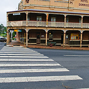 The Hotel Dorrigo in downtown Dorrigo in north central New South Wales