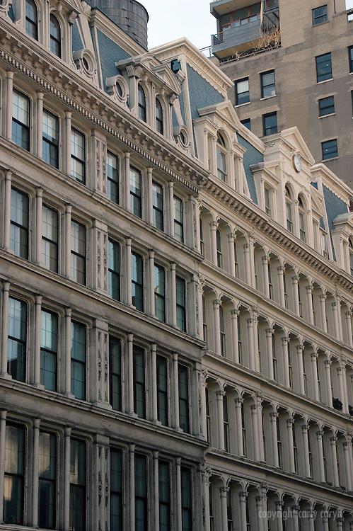 Great Jones facades