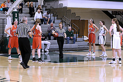 07 January 2017:  Robyn Foster during an Wheaton Thunder and the Illinois Wesleyan Titans in Shirk Center, Bloomington IL