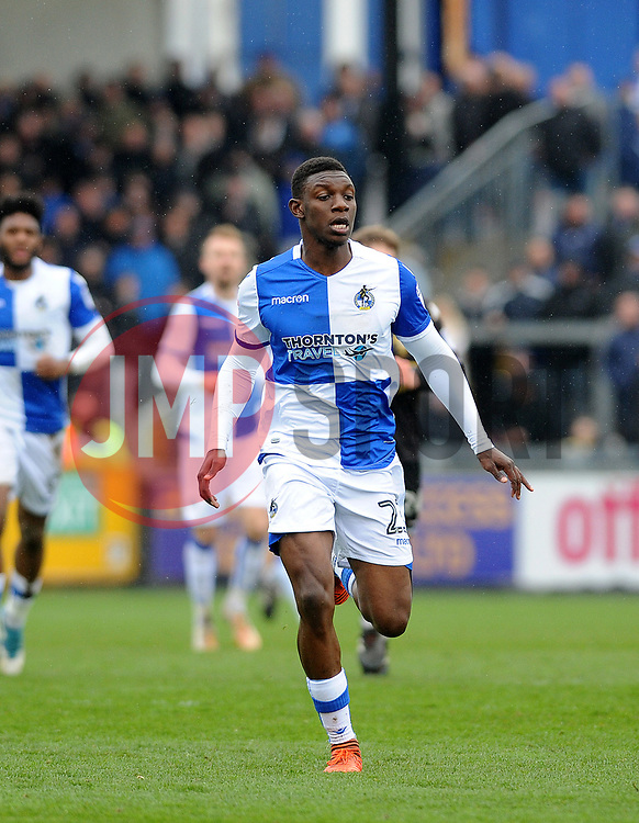 Bernard Mensah of Bristol Rovers - Mandatory by-line: Neil Brookman/JMP - 30/03/2018 - FOOTBALL - Memorial Stadium - Bristol, England - Bristol Rovers v Bury - Sky Bet League One