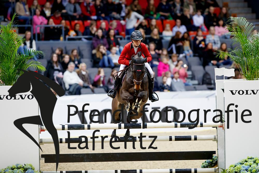 Farman, Sofia (SWE) Love Me Tender<br /> Göteborg - Gothenburg Horse Show FEI World Cups 2017<br /> © Stefan Lafrentz