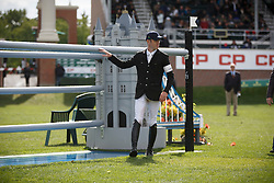 Brash Scott, (GBR), Lord Harris <br /> CP International Grand Prix presented by Rolex<br /> Spruce Meadows Masters - Calgary 2015<br /> © Hippo Foto - Dirk Caremans<br /> 13/09/15
