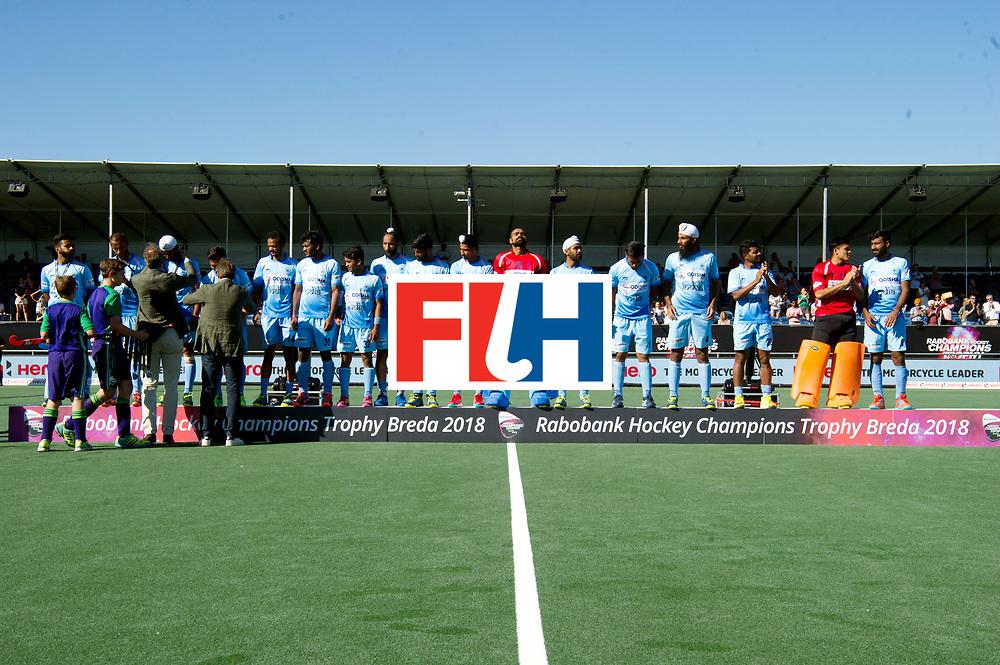 BREDA - Rabobank Hockey Champions Trophy<br /> Final Australia - India<br /> Australia won after shoot outs.<br /> Photo: Medalles India.<br /> COPYRIGHT WORLDSPORTPICS FRANK UIJLENBROEK