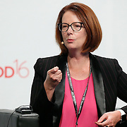 20160616 - Brussels , Belgium - 2016 June 16th - European Development Days - Education in emergencies - Julia Gillard , Chair of the Board , Global Partnership for Education © European Union