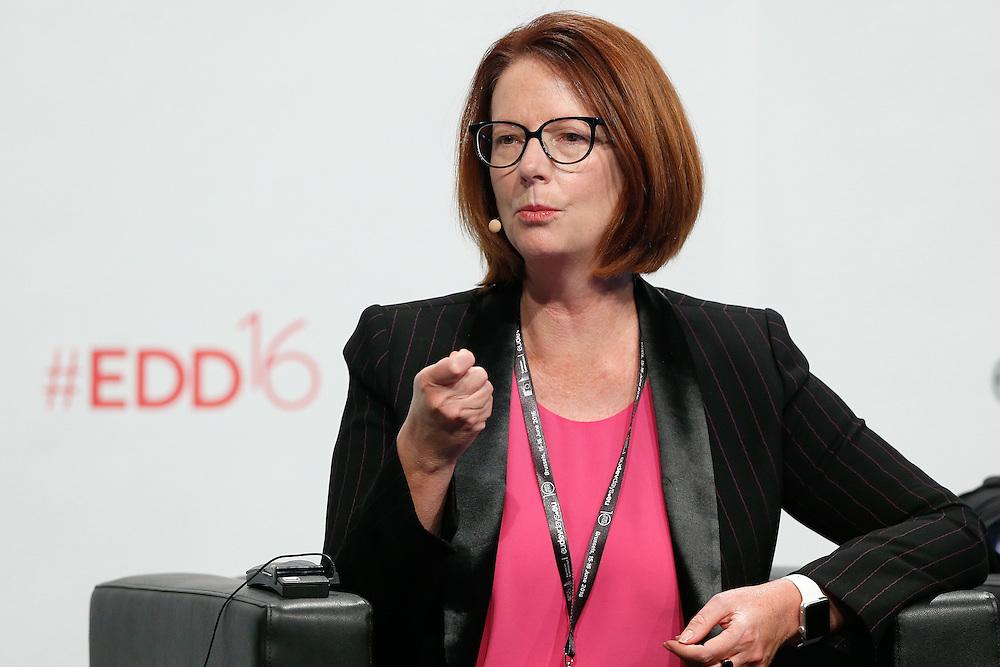 20160616 - Brussels , Belgium - 2016 June 16th - European Development Days - Education in emergencies - Julia Gillard , Chair of the Board , Global Partnership for Education © European Union