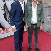 NLD/Amsterdam/20120617 - Premiere Het Geheugen van Water, Boris van der Ham en partner