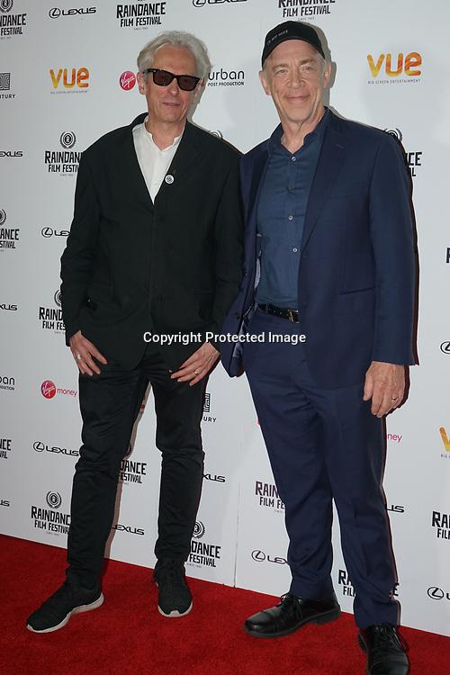 London, England, UK. 21th September 2017. Elliot Grove,J. K. Simmons attend Raindance Film Premiere of 'I'm Not Here', starring J.K. Simmons