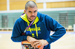 Martin Klesnik, physiotherapist during training session of Slovenian National Basketball team at day 2 of the FIBA EuroBasket 2017 at Pasila Sports Arena in Helsinki, Finland on September 1, 2017. Photo by Vid Ponikvar / Sportida