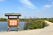 Information Kiosk at San Joaquin Marsh Reserve