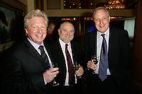 Gerald Newson, Chairman of PAMRA, John Smith, General Secretary of<br /> Musicians' Union and Glen Barnham, Equity