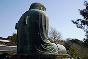 The Great Buddha of Kamakura is a bronze statue of Amida Buddha that is located on the grounds of the Kotokuin Temple.