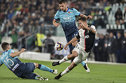 May 19, 2019 - Turin, Turin, Italy - Paulo Dybala of Juventus FC and Berat Djimsiti,  Marten de Roon, of Atalanta BC during the Serie A match at Allianz Stadium, Turin (Credit Image: © Antonio Polia/Pacific Press via ZUMA Wire)