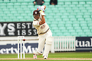 Kevin Pietersen of Surrey County Cricket Club during the LV County Championship Div Two match at the Kia Oval, London<br /> Picture by Mark Chappell/Focus Images Ltd +44 77927 63340<br /> 26/04/2015