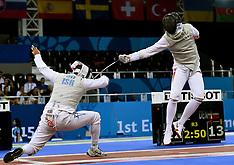20150625 Baku 2015 European Games - Fægtning - Alexander Tsoronis