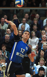 Dario Savicic at finals of Slovenian volleyball cup between OK ACH Volley and OK Salonit Anhovo Kanal, on December 27, 2008, in Nova Gorica, Slovenia. ACH Volley won 3:2.(Photo by Vid Ponikvar / SportIda).