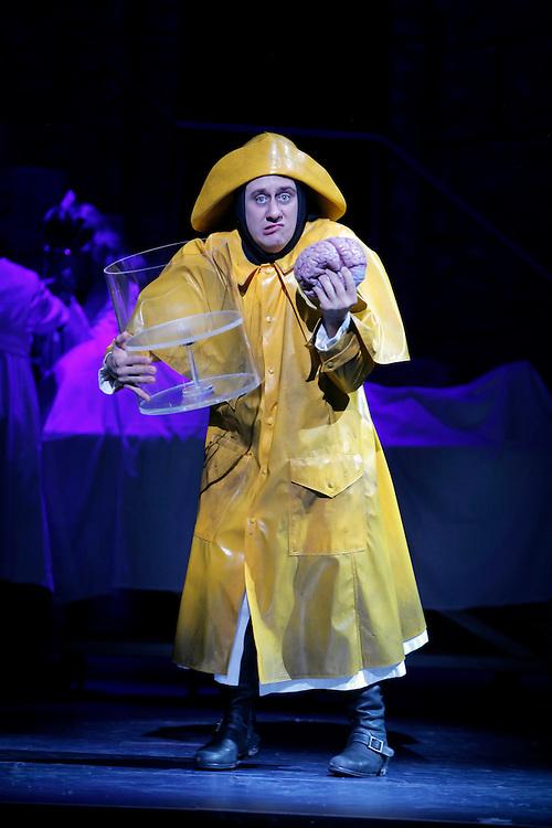 Young Frankenstein.Dress Rehearsal, Act I.10/8/07.Credit Photo: ©2007 Paul Kolnik.Paul Kolnik Studio.317 West 87th Street, 1A.New York, NY  10024.t: 212.362.7778.studio@paulkolnik.com