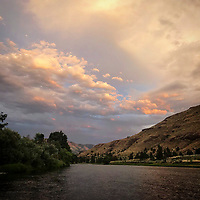 John Day River in Kimberly, Oregon