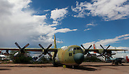 The Lockheed C 130 a Hercules at the Pima Air and Space Museum in Tuscon, Arizona.<br /> <br /> Photo by Dennis Brack