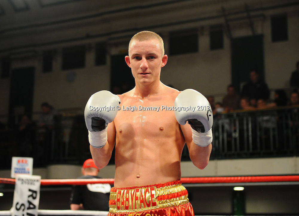 Paul Butler defeats Anwar Alfadi by way of knock out at York Hall, Bethnal Green, London, UK on the 21st March 2013. Frank Warren Promotions. © Leigh Dawney Photography 2013.