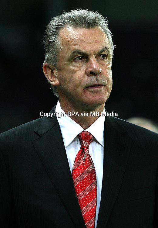 World Cup Brazil 2014 / <br /> Switzerland Team -<br /> Ottmar HITZFELD - Coach Switzerland