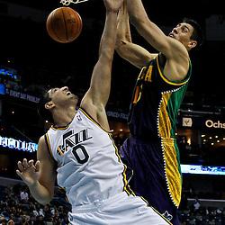 02-13-2012 Utah Jazz at New Orleans Hornets