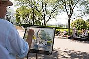 En plein air at The New York Botanical Gardens on June 19, 2016 in The Bronx, New York. (Photo by Ben Hider)