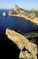 Formentor cap, Majorque island, Baleares, Spain