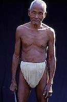 Nepal - Region du Teraï - Homme d'ethnie Rana Tharu