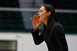 Dec 7, 2011; San Francisco CA, USA;  San Francisco Lady Dons head coach Jennifer Azzi on the sidelines against the Florida Gators during the first half at War Memorial Gym.  Florida defeated San Francisco 91-68. Mandatory Credit: Jason O. Watson-US PRESSWIRE