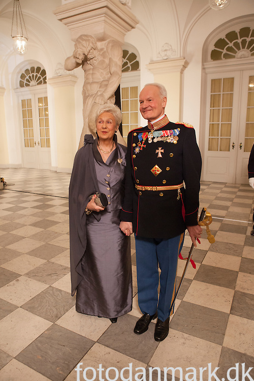 Her Majesty Queen Margrethe's celebration of her 40 years on the throne.