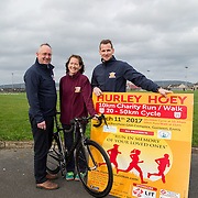 25.01.2017              <br /> Pictured at LIT for the launch of the 5th Annual Hurley Hoey Run/Walk/Cycle are Jimmy Browne, Vice President of LIT, Maeve Hoey, Chair, Hurley Hoey and Jackie Tyrrell, Former Kilkenny Hurling Captain.   <br />  The event takes place at 11am on Saturday March 11th at the Doora-Barefield GAA Grounds. Funds raised will go to Cliona's Foundation and Clare Haven.  <br />  Full details at www.hurleyhoey10km.com. Picture: Alan Place