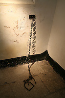 chains in Wicklow Gaol Museum Ireland