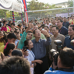 Hun Sen and Garment Workers