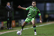 Forest Green Rovers Dominic Bernard(3) on the ball during the EFL Sky Bet League 2 match between Forest Green Rovers and Port Vale at the New Lawn, Forest Green, United Kingdom on 11 February 2020