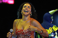 Football-FIFA Beach Soccer World Cup 2006 - Final, Beachsoccer World Cup 2006..Daniela Mercury in concert. Rio de Janeiro - Brazil 12/11/2006. Mandatory credit: FIFA/ Manuel Queimadelos