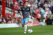 Sheffield Wednesday Midfielder Ross Wallace on the ball during the Sky Bet Championship match between Brentford and Sheffield Wednesday at Griffin Park, London, England on 26 September 2015. Photo by Phil Duncan.