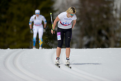 VARONA Larysa competing in the Nordic Skiing XC Long Distance at the 2014 Sochi Winter Paralympic Games, Russia