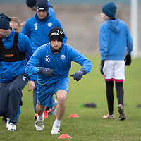 St Johnstone Training…30.12.16<br />David Wotherspoon pictured during training this morning ahead of tomorrow's game against Dundee<br />Picture by Graeme Hart.<br />Copyright Perthshire Picture Agency<br />Tel: 01738 623350  Mobile: 07990 594431