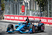 Felix Rosenqvist from Sweden,  Chip Ganassi Racing, Honda, action, track, piste,  INDY car race, TORONTO race in the  Streets of Toronto - Ontario, Canada,   Fee liable image, Copyright © ATP Marcel LANGER
