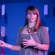 Sara Curry speaks at TEDx Piscataqua, May 6, 2015 at 3S Artspace in Portsmouth NH