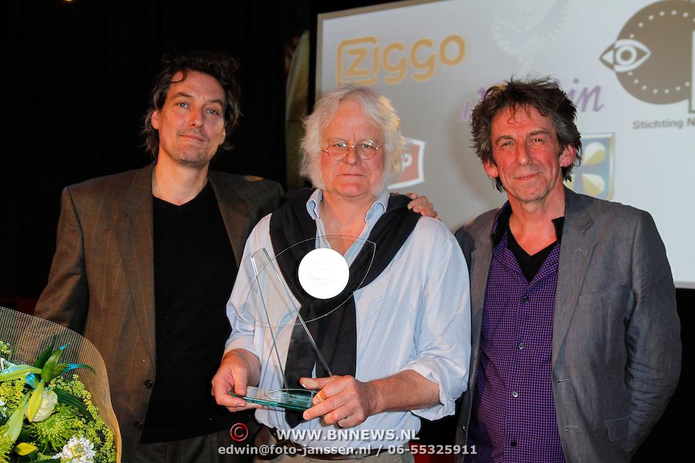 NLD/Hilversum/20120606 -Uitreiking Nipkowschrijf 2012, O' Hanlons Helden winnen de Zilveren Nipkowschijf 2012