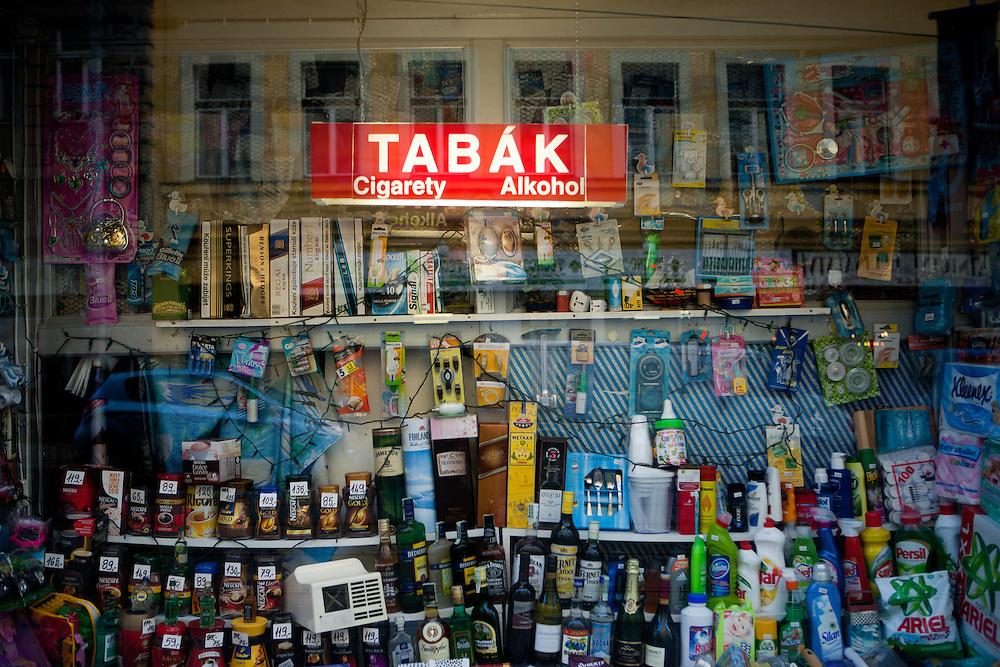 "Vietnamese owned ""allround shop"" in Prague's quater Zizkov close to the city center."