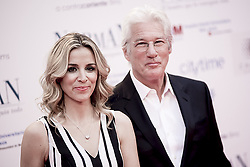 May 31, 2017 - Madrid, Spain - Alejandra Silva and actor Richard Gere attend the 'Norman: The Moderate Rise and Tragic Fall of a New York Fixer' (Norman: El Hombre Que Lo Conseguia Todo) premiere at the Callao cinema on May 31, 2017 in Madrid, Spain. (Credit Image: © Coolmedia/NurPhoto via ZUMA Press)