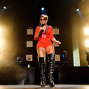 WASHINGTON, DC - August 26th, 2012 - R&B heavyweight Mary J. Blige performs at the Verizon Center in Washington, D.C.  (Photo by Kyle Gustafson)