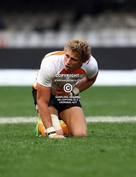 DURBAN, SOUTH AFRICA - SEPTEMBER 10: Gerrie Labuschagne of the Toyota FS Cheetahs U21 during the Currie Cup U21 match between the Sharks and Free State at Growthpoint Kings Park on September 10, 2016 in Durban, South Africa. (Photo by Steve Haag/Gallo Images)