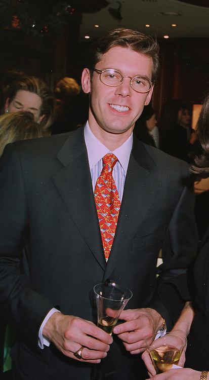 MR JAMES SEUSS new M/D of Tiffany & co the jewellers, at a party in London on 4th December 1997.MEB 8 MO