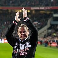 18-12-2016: Voetbal: Ajax v PSV: Amsterdam<br /> <br /> (L-R) Frank de Boer neemt afscheid in de Arena tijdens het Eredivisie duel tussen Ajax en PSV op 18 december in De Arena tijdens speelronde 17<br /> <br /> Eredivisie - Seizoen 2016 / 2017<br /> <br /> Foto: Gertjan Kooij
