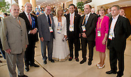 (C) Joanna Despotopoulou - President of the Special Olympics OC Athens 2011 & (C) Timothy P. Shriver - Director of Special Olympics International & Mary Davis - Director of Europe Eurasia Region Special Olympics  2011 Special Olympics World Summer Games Athens on June 25, 2011..The idea of Special Olympics is that, with appropriate motivation and guidance, each person with intellectual disabilities can train, enjoy and benefit from participation in individual and team competitions...Greece, Athens, June 25, 2011...Picture also available in RAW (NEF) or TIFF format on special request...For editorial use only. Any commercial or promotional use requires permission...Mandatory credit: Photo by © Adam Nurkiewicz / Mediasport