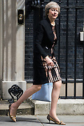 UNITED KINGDOM, London: 5 July 2016 Theresa May leaves Downing Street after cabinet meeting. Pic by Andrew Cowie / Story Picture Agency